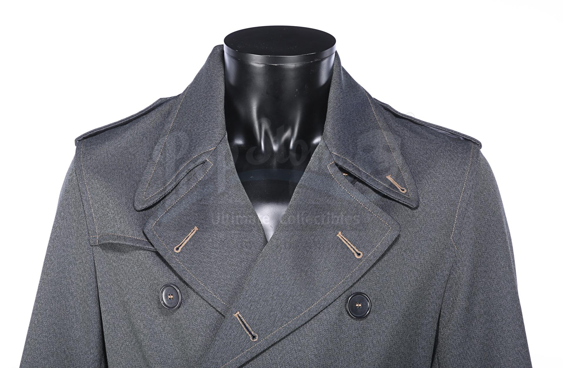 ALLIED (2016) - Max's (Brad Pitt) Military Overcoat - Image 4 of 17