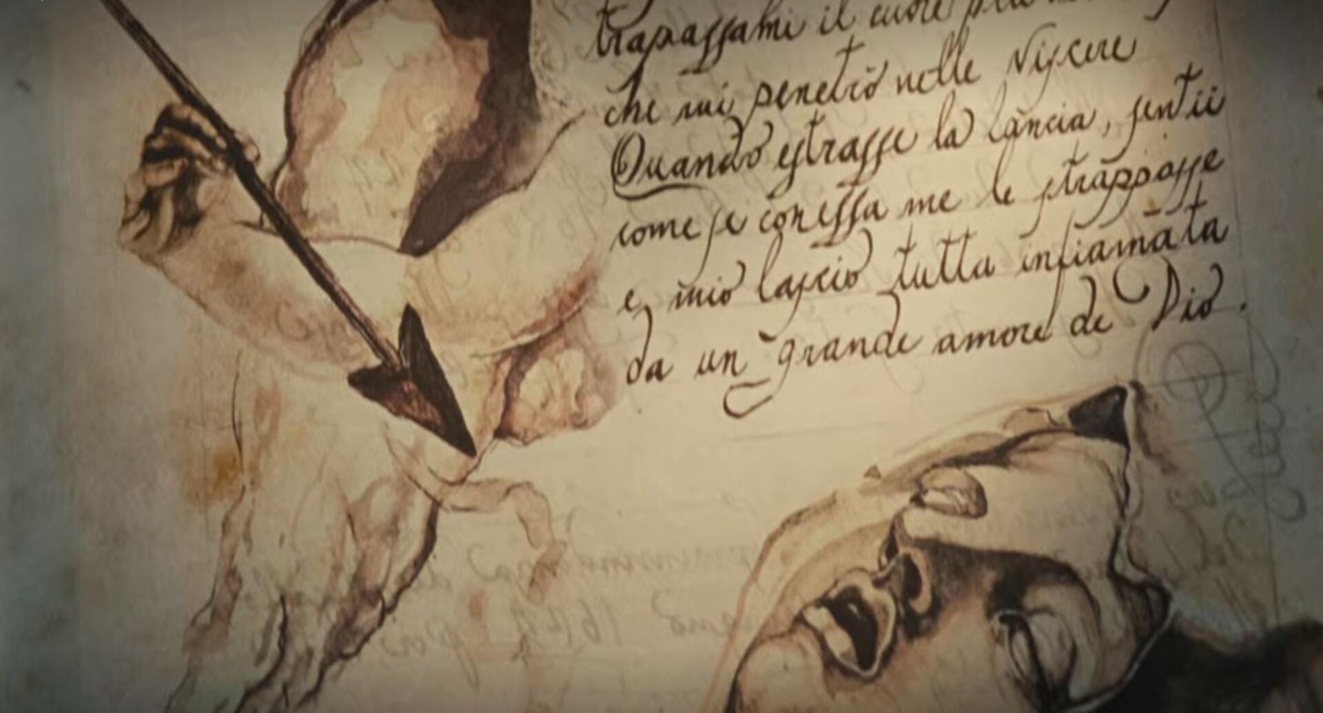 "ANGELS & DEMONS (2009) - Ancient Vatican ""Bernini"" Ledger - Image 33 of 34"