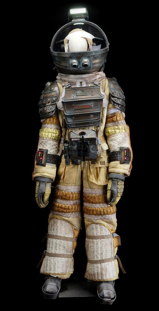 ALIEN (1979) - Light-up Replica Thomas Kane (John Hurt) Spacesuit Display - Image 2 of 15
