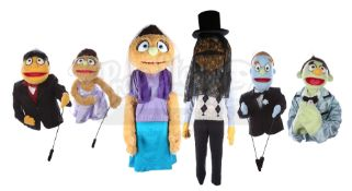 AVENUE Q (STAGE SHOW) - Wedding Puppet Collection: Kate Monster, Nicky, Princeton, Rod, Kate Monster
