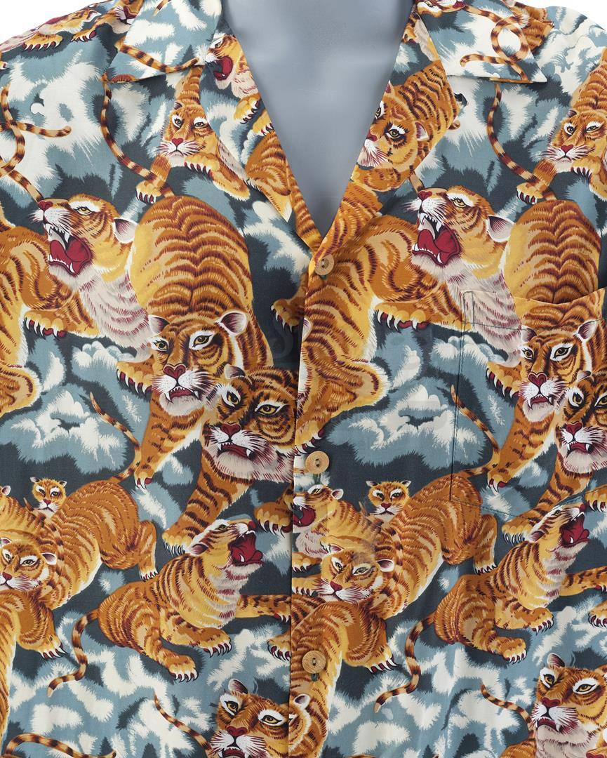 12 MONKEYS (1995) - James Cole's (Bruce Willis) Hawaiian Shirt - Image 5 of 8