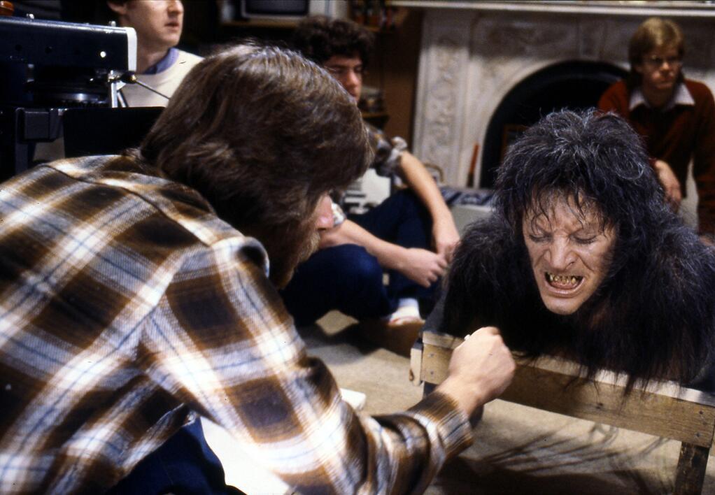 "AN AMERICAN WEREWOLF IN LONDON (1981) - Rick Baker SFX ""Change-O"" Mechanical Werewolf Transformation - Image 26 of 27"
