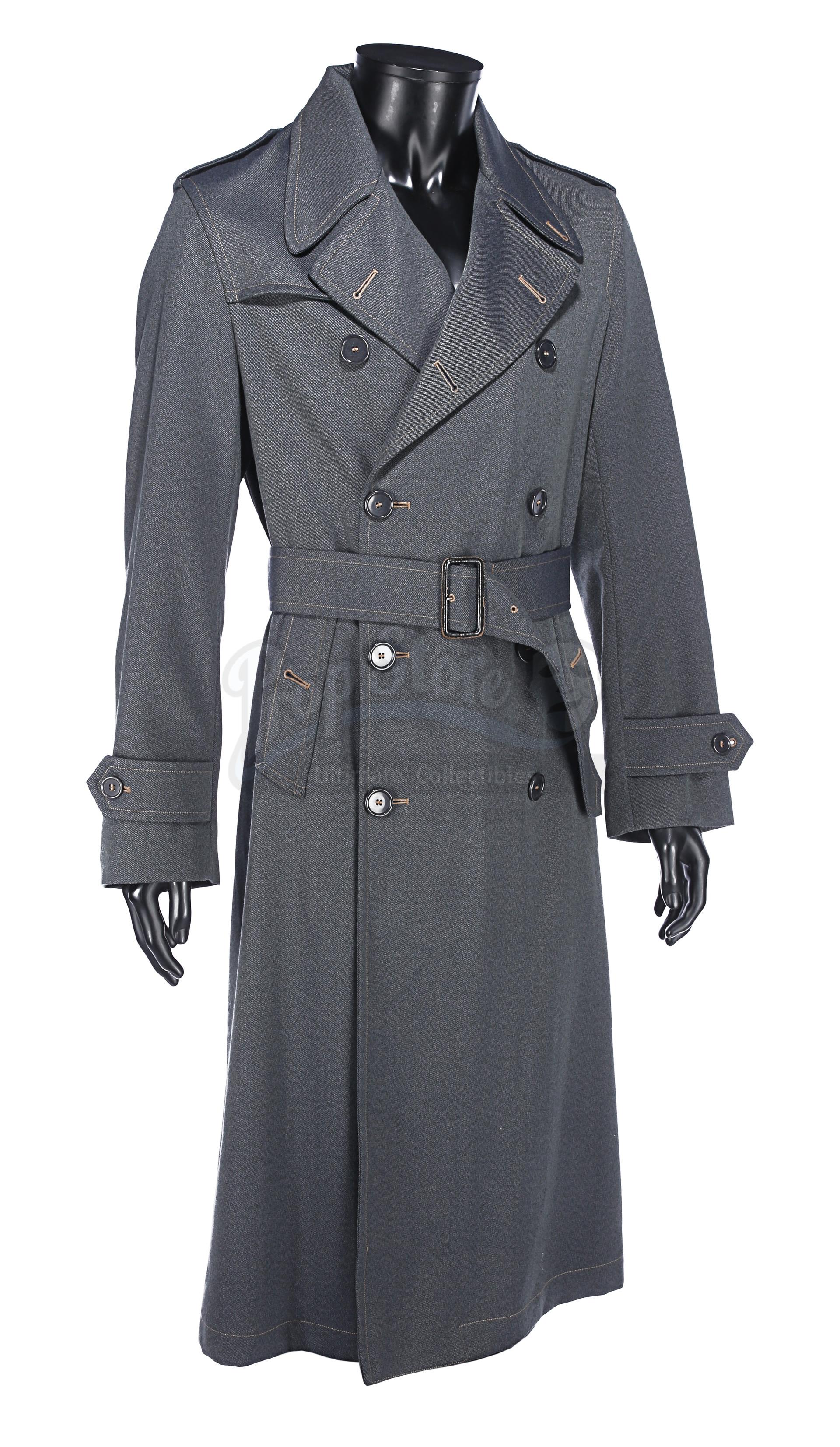 ALLIED (2016) - Max's (Brad Pitt) Military Overcoat - Image 2 of 17