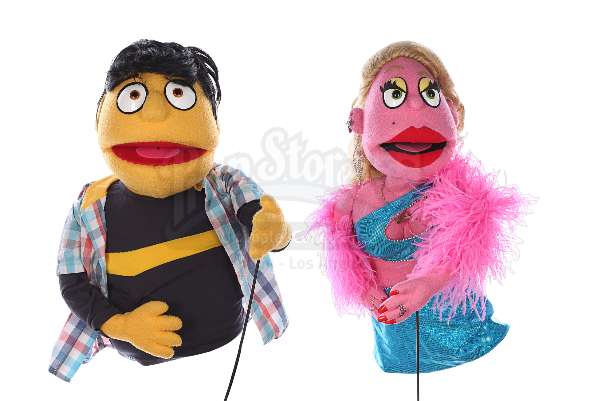 AVENUE Q (STAGE SHOW) - Lucy the Slut and Princeton Puppets