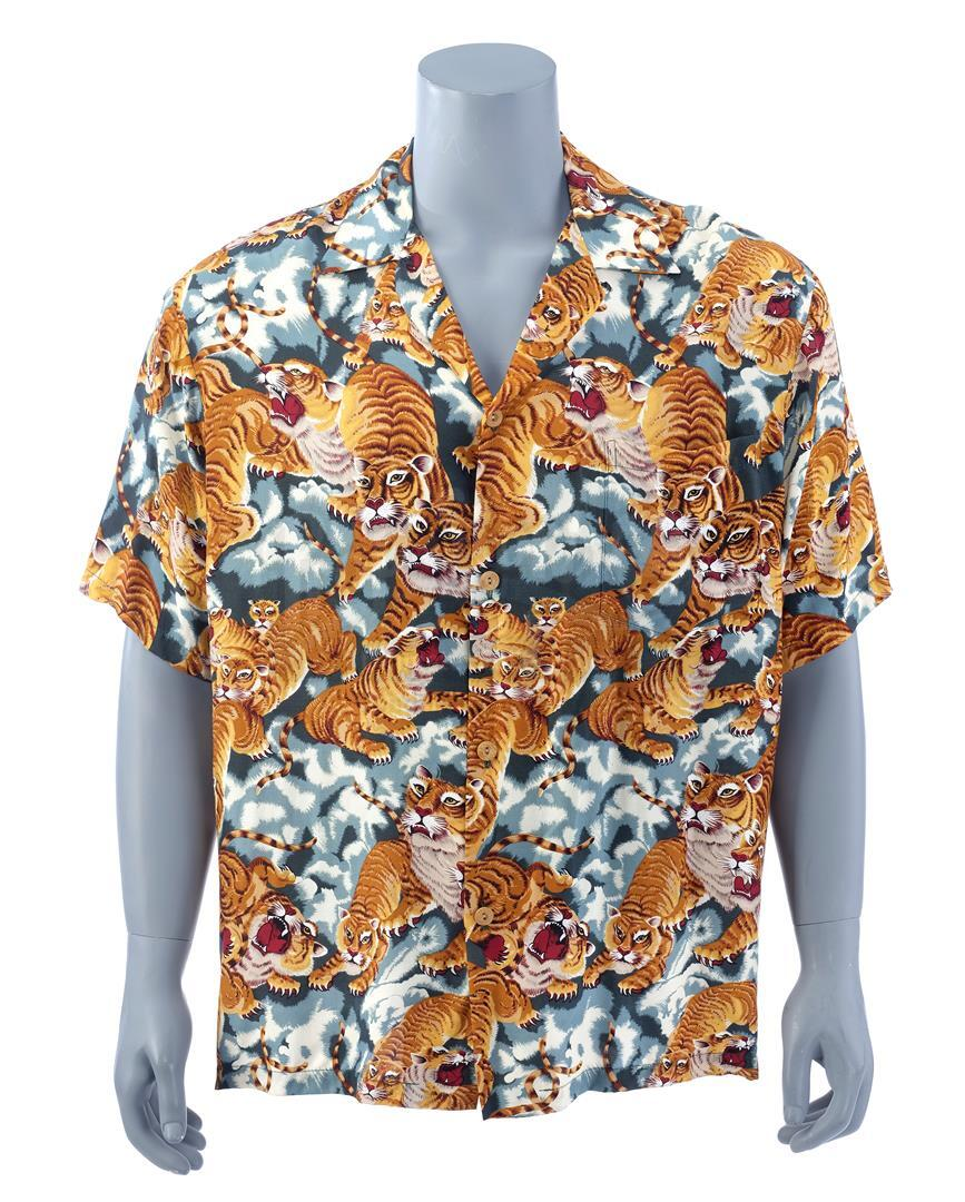 12 MONKEYS (1995) - James Cole's (Bruce Willis) Hawaiian Shirt