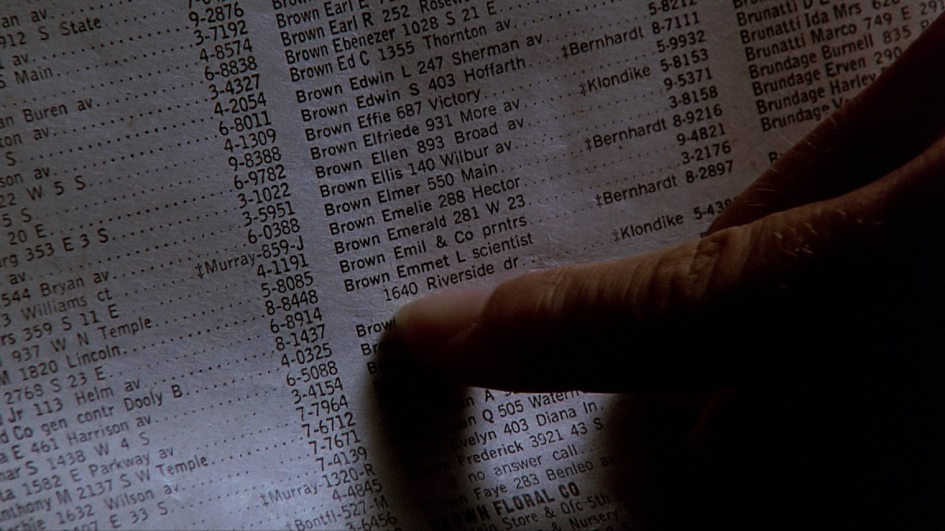 BACK TO THE FUTURE (1985) - Torn Phone Book Page - Image 5 of 8