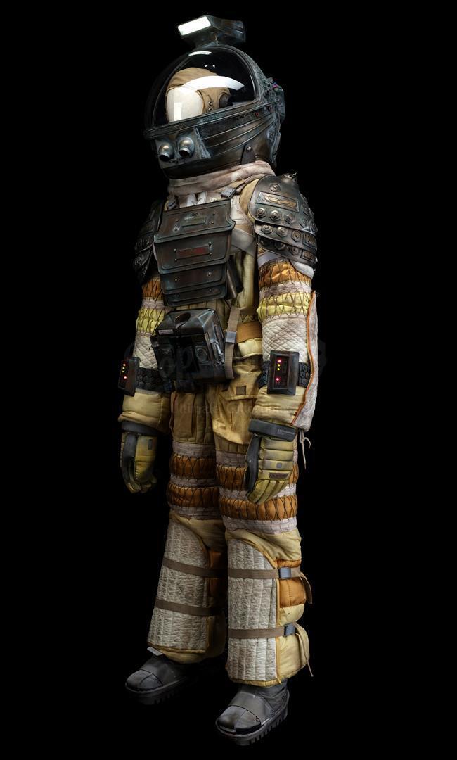 ALIEN (1979) - Light-up Replica Thomas Kane (John Hurt) Spacesuit Display - Image 3 of 15