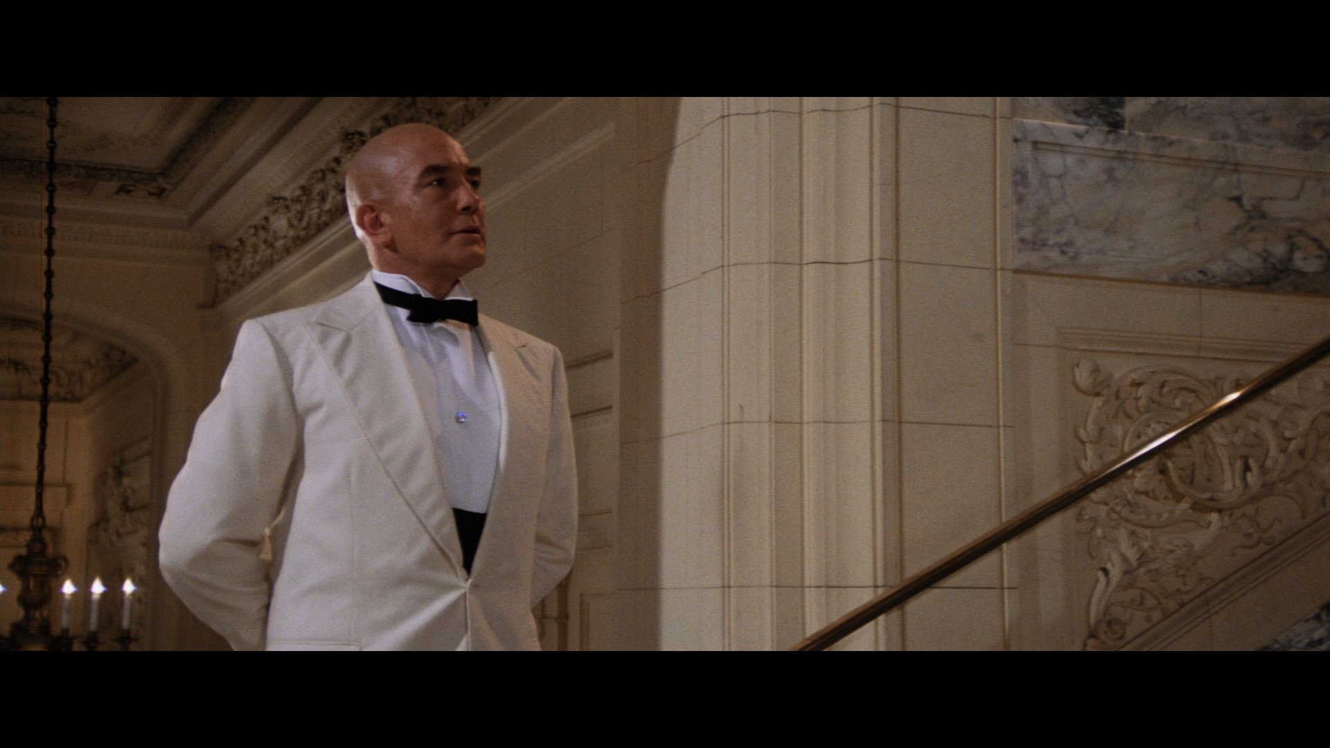 ANNIE (1982) - Daddy Warbucks' (Albert Finney) Tuxedo Jacket - Image 9 of 12