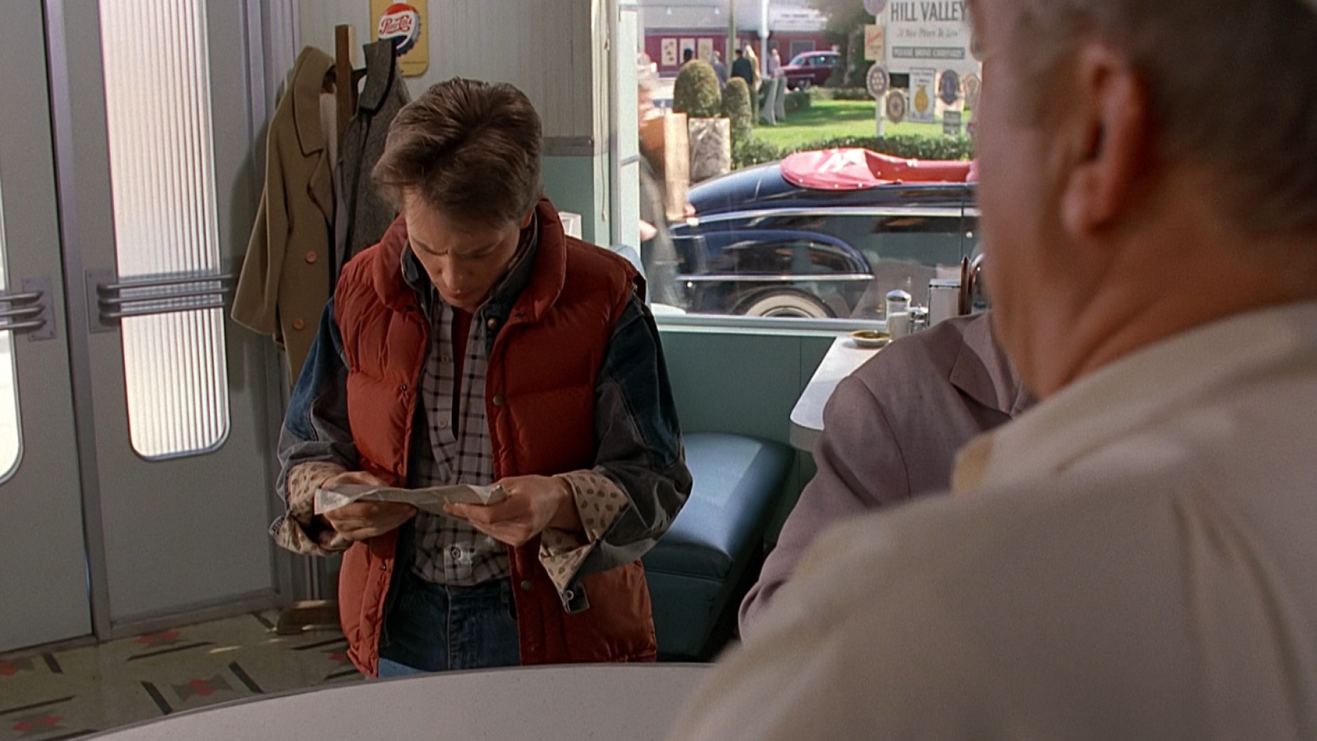 BACK TO THE FUTURE (1985) - Torn Phone Book Page - Image 8 of 8
