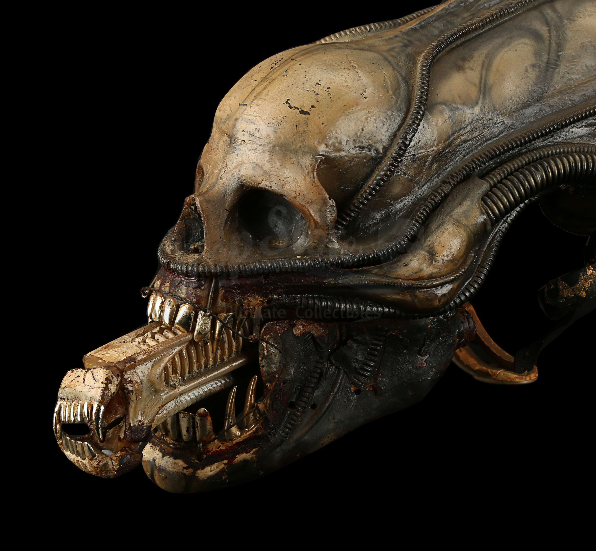 ALIEN (1979) - H.R. Giger-designed Special Effects Mechanical Alien Head - Image 4 of 34