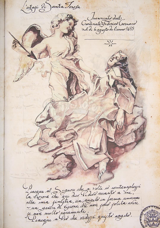 "ANGELS & DEMONS (2009) - Ancient Vatican ""Bernini"" Ledger - Image 26 of 34"