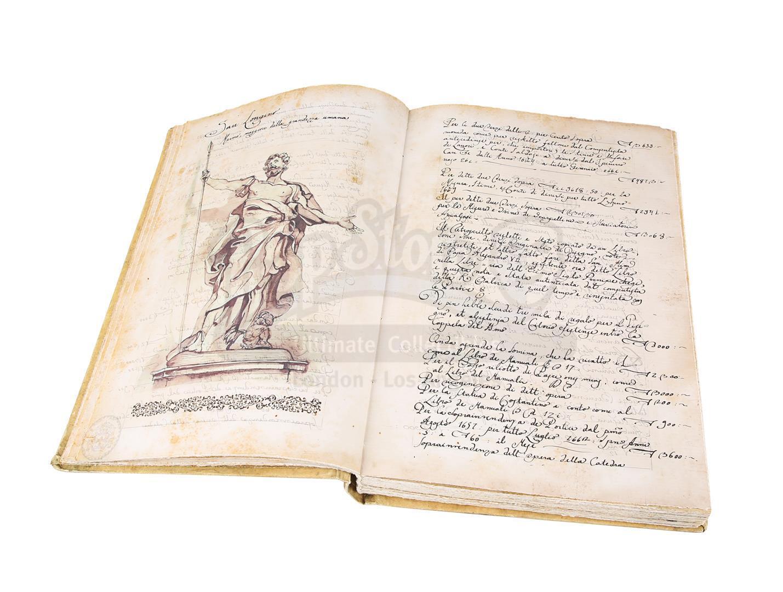 "ANGELS & DEMONS (2009) - Ancient Vatican ""Bernini"" Ledger - Image 18 of 34"