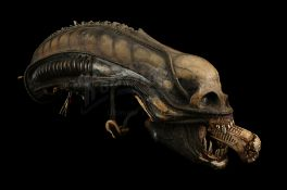 ALIEN (1979) - H.R. Giger-designed Special Effects Mechanical Alien Head