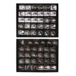 JAMES BOND: LIVE AND LET DIE (1973) - Pair of Contact Sheets Featuring Solitaire (Jane Seymour) and