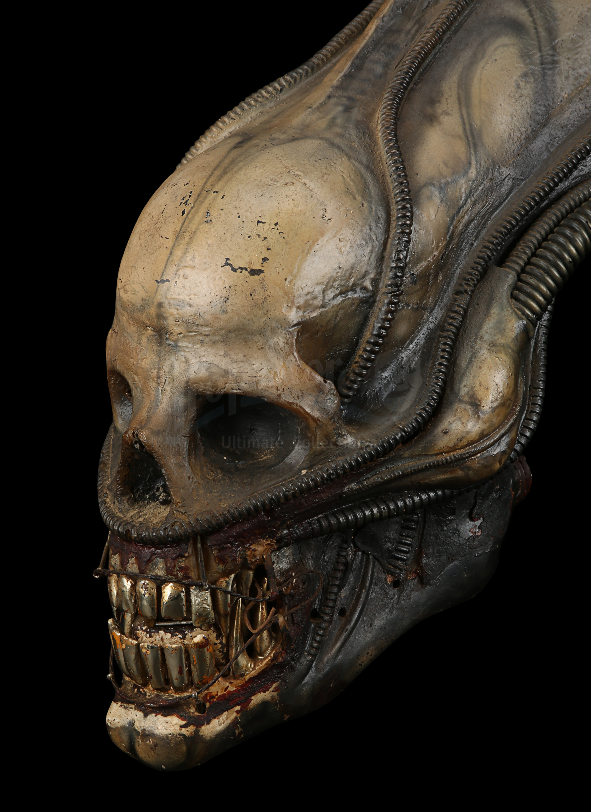 ALIEN (1979) - H.R. Giger-designed Special Effects Mechanical Alien Head - Image 7 of 34
