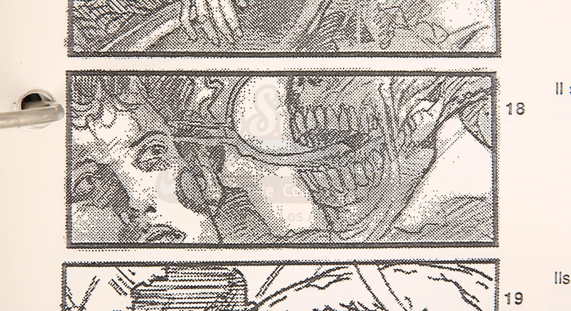 ALIEN RESURRECTION (1997) - Jean-Pierre Jeunet's Personal Storyboard Binder - Image 10 of 10