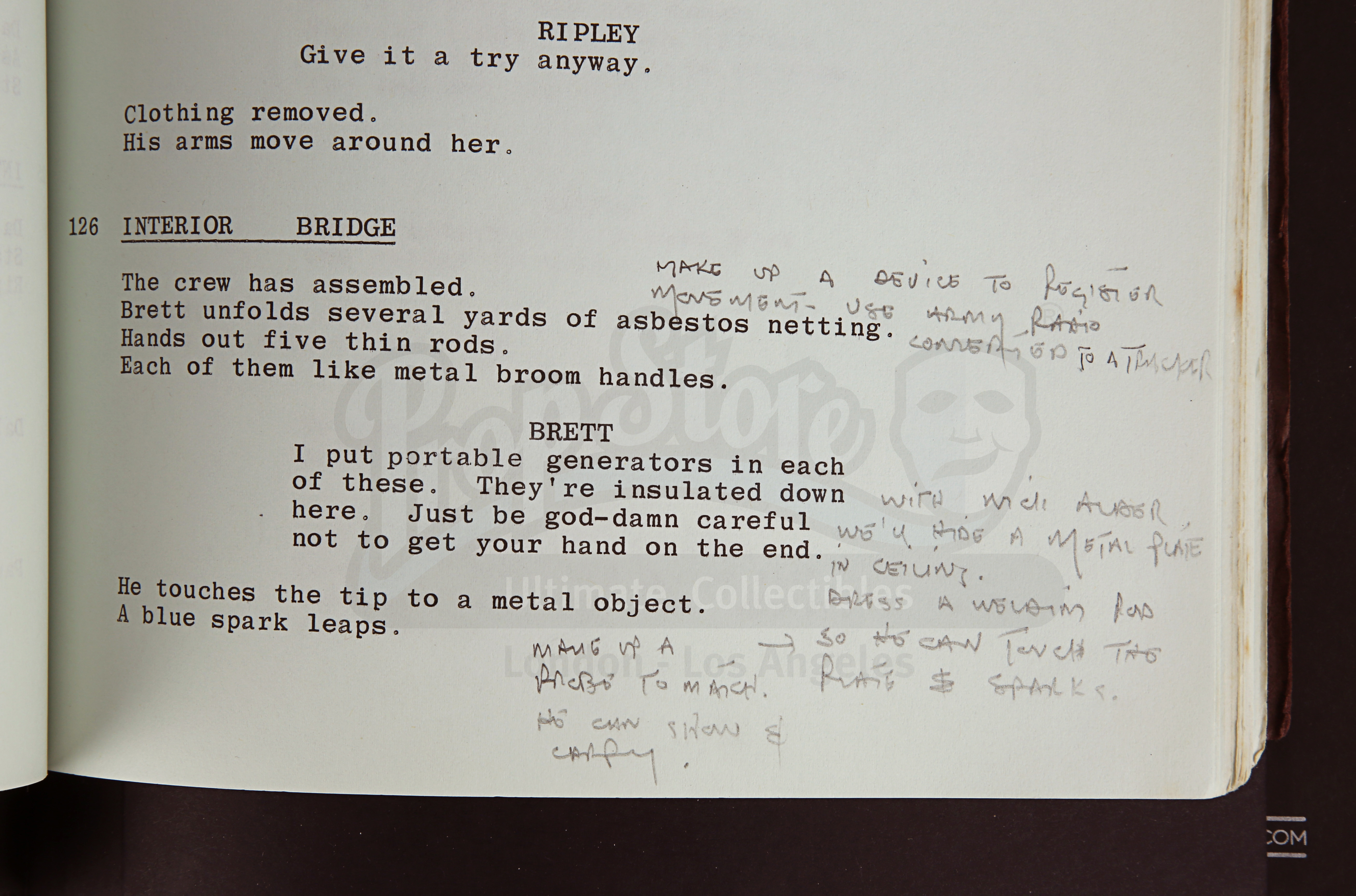 ALIEN (1979) - Roger Christian Annotated Script - Image 19 of 22