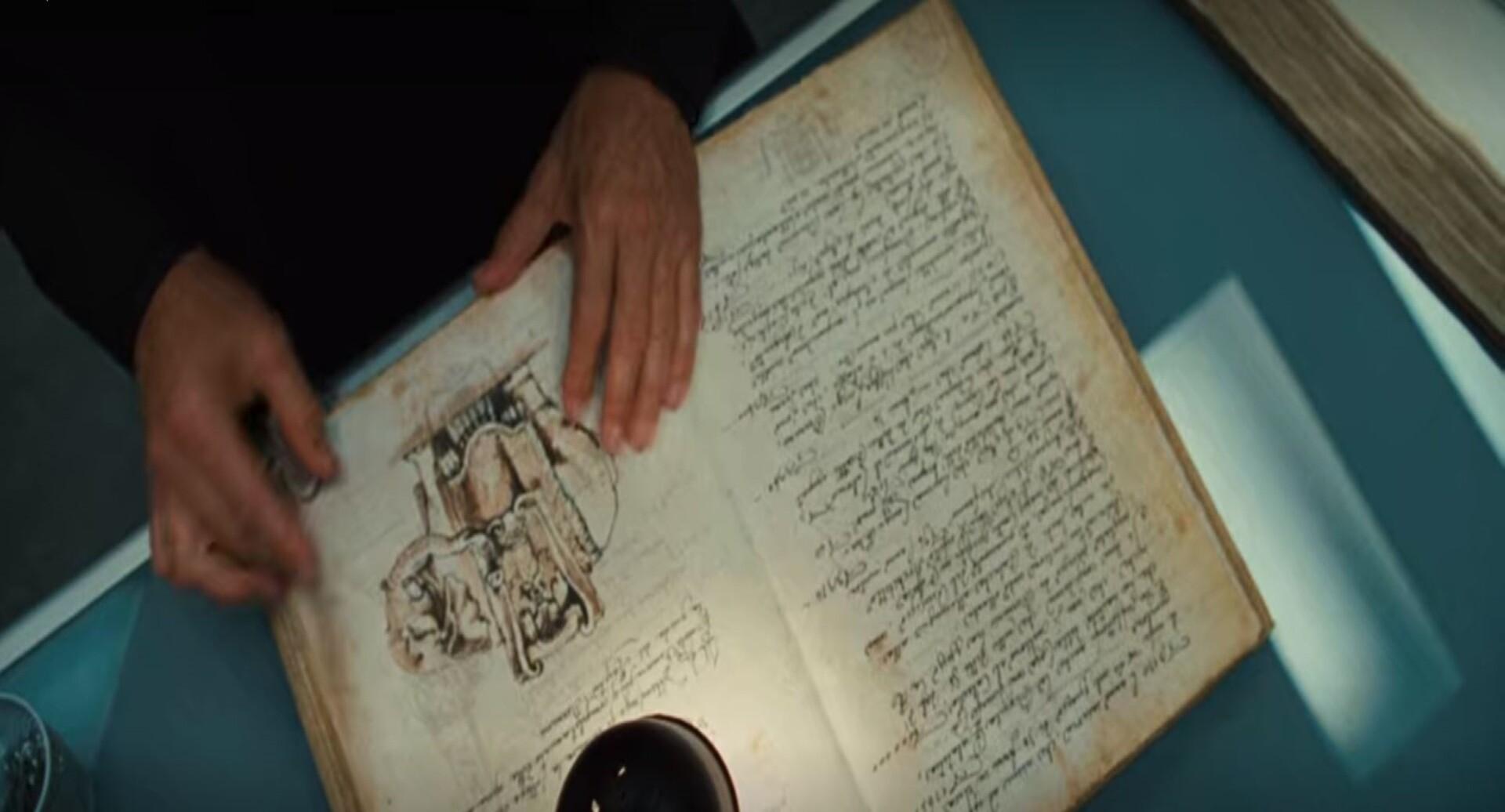 "ANGELS & DEMONS (2009) - Ancient Vatican ""Bernini"" Ledger - Image 31 of 34"
