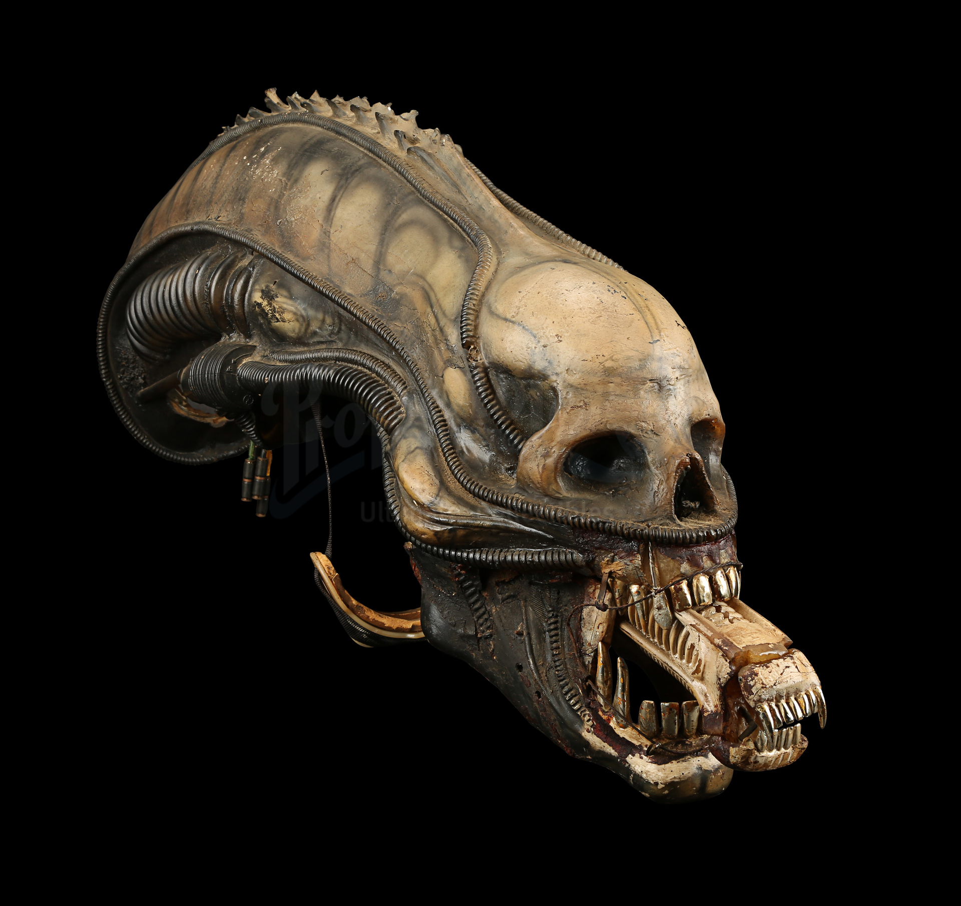 ALIEN (1979) - H.R. Giger-designed Special Effects Mechanical Alien Head - Image 20 of 34