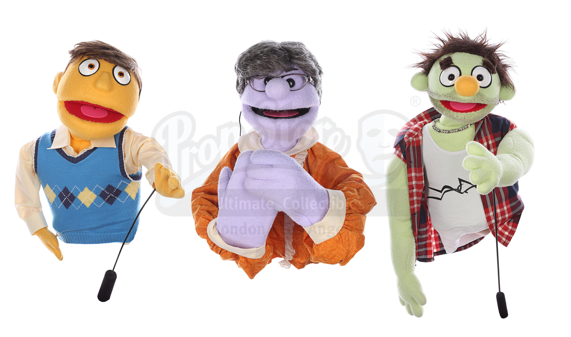 AVENUE Q (STAGE SHOW) - Cameo Puppet Collection: Mrs T, Ricky and Newcomer