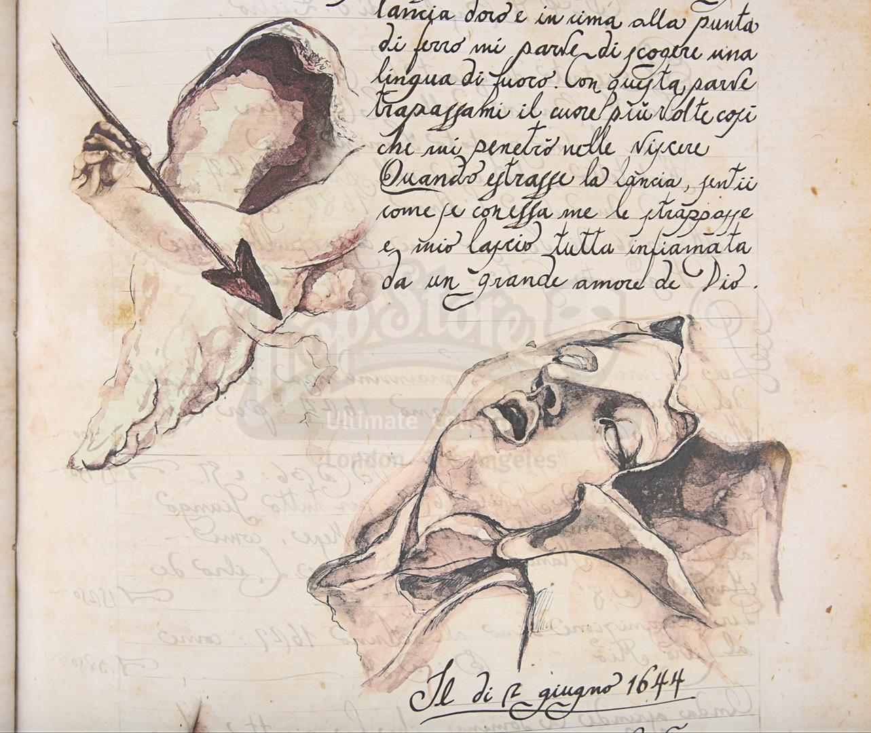 "ANGELS & DEMONS (2009) - Ancient Vatican ""Bernini"" Ledger - Image 24 of 34"