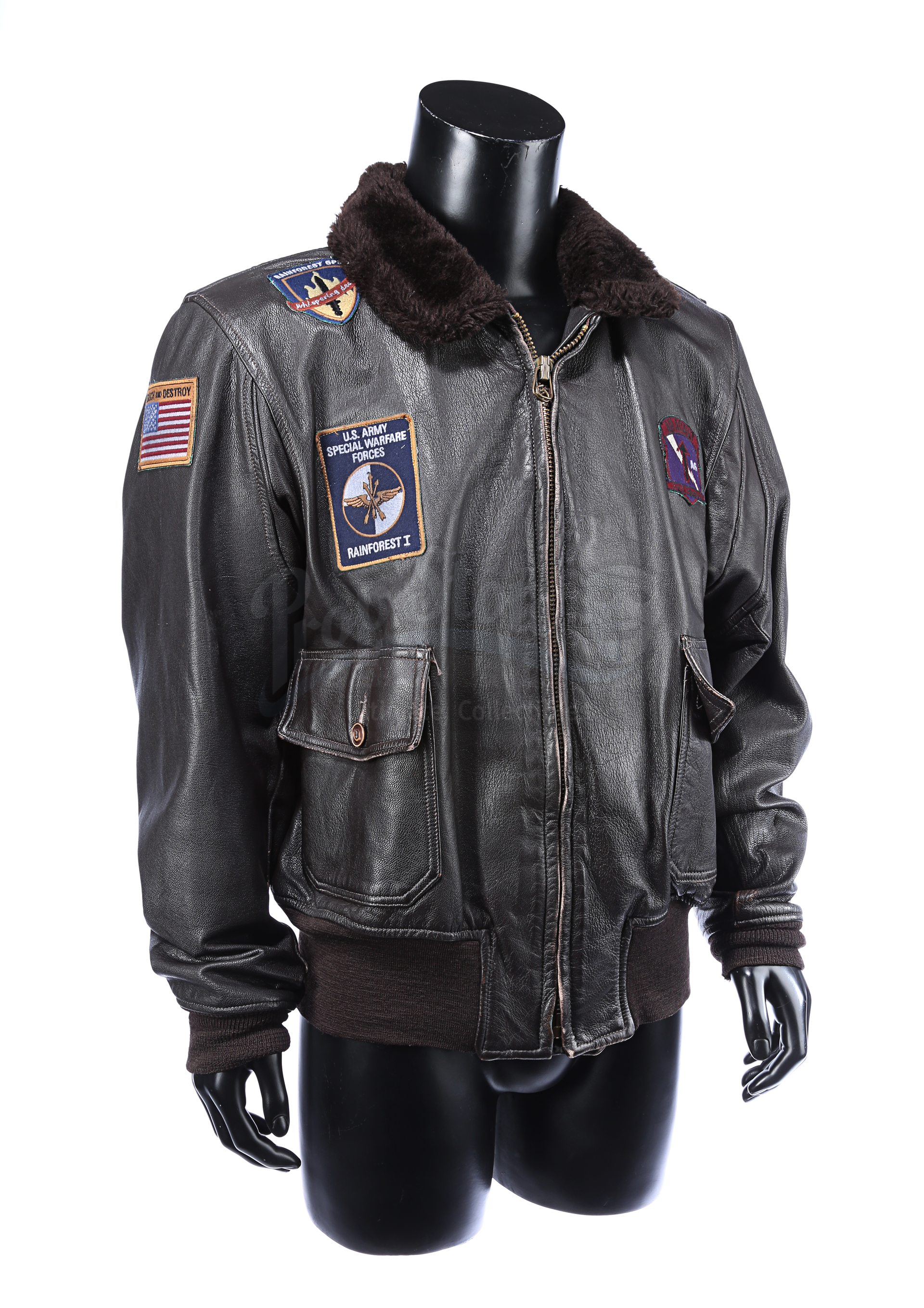 THE 6TH DAY (2000) - Adam Gibson's (Arnold Schwarzenegger) Leather Jacket - Image 3 of 15