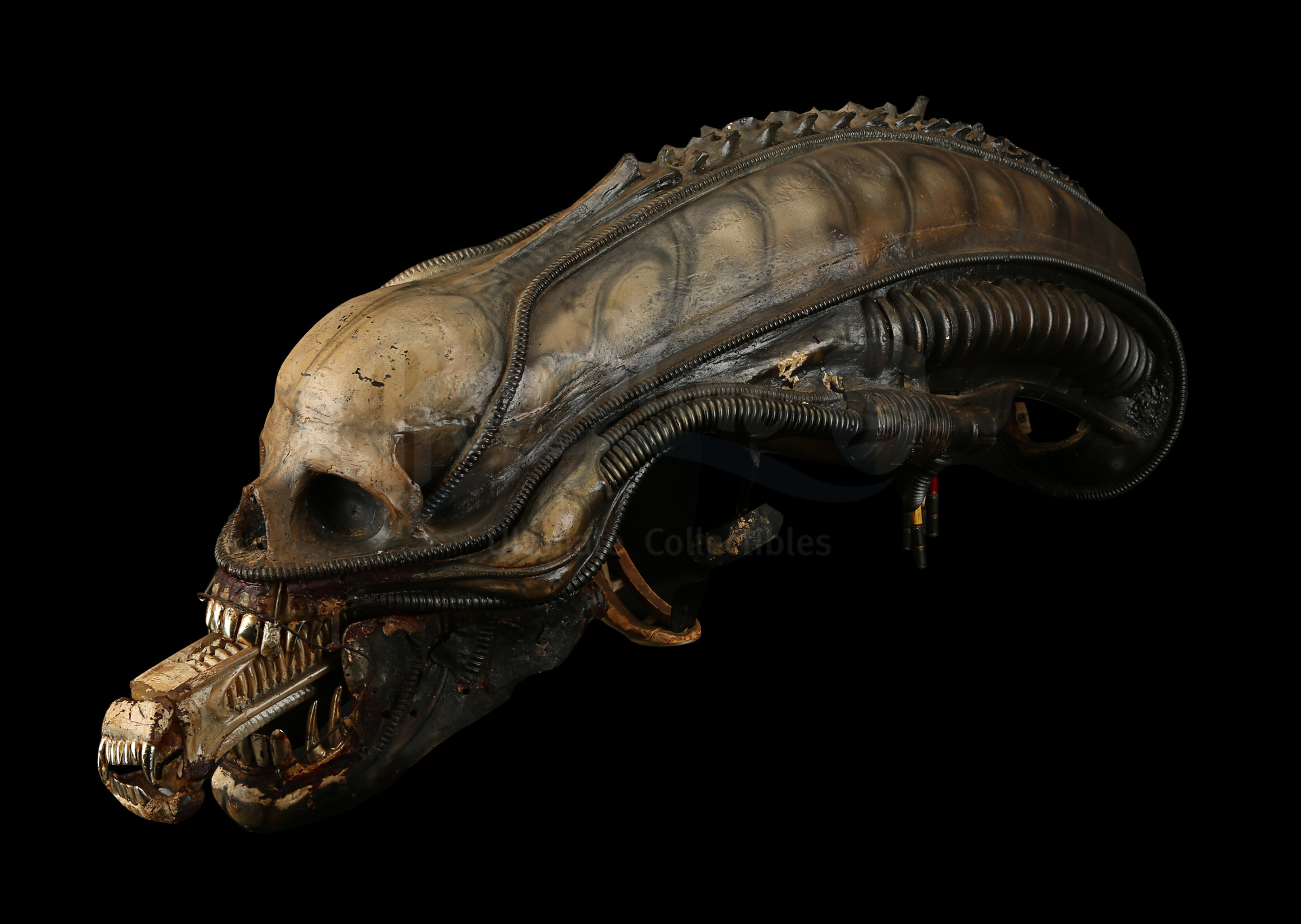 ALIEN (1979) - H.R. Giger-designed Special Effects Mechanical Alien Head - Image 3 of 34