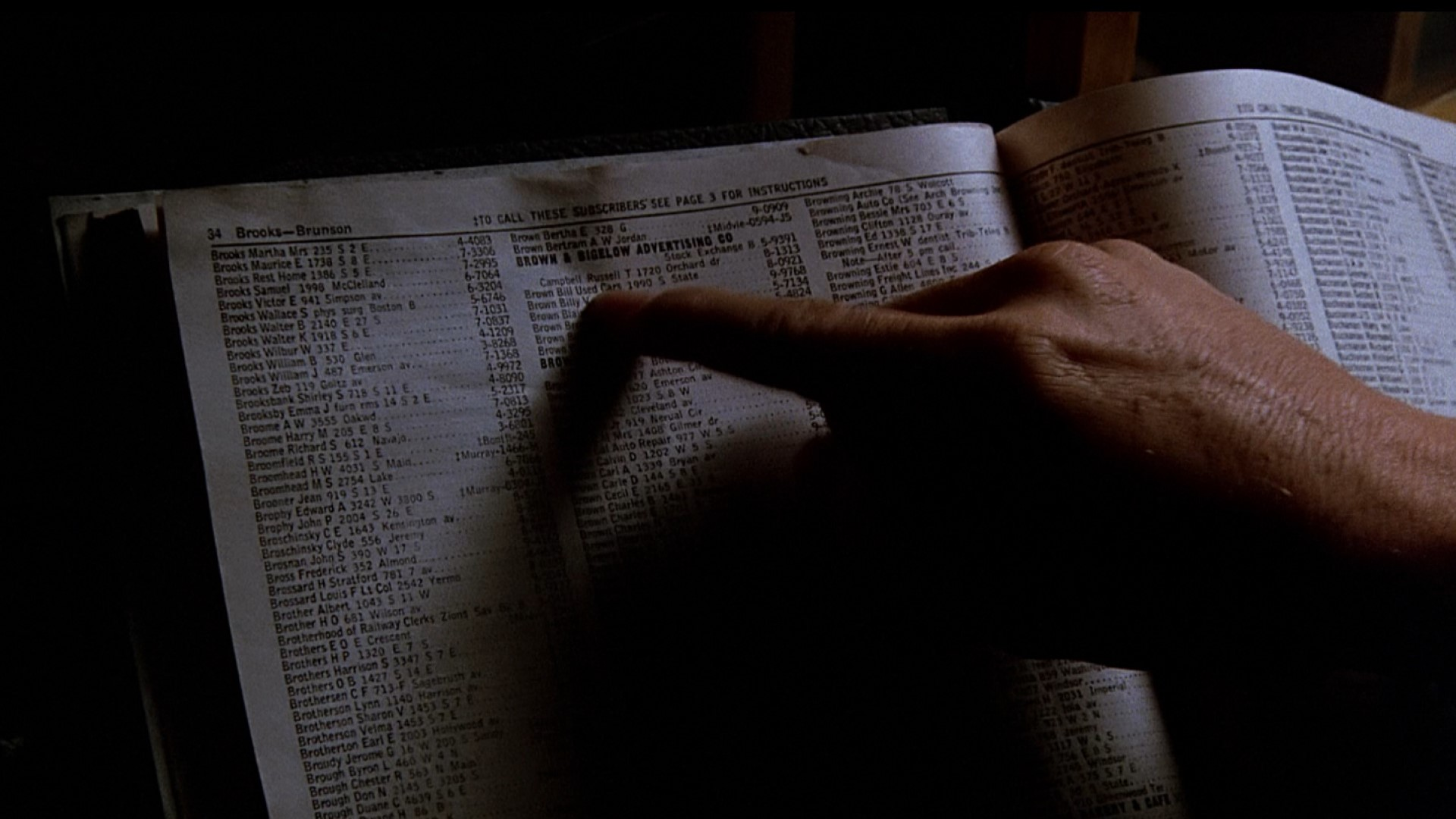 BACK TO THE FUTURE (1985) - Torn Phone Book Page - Image 6 of 8