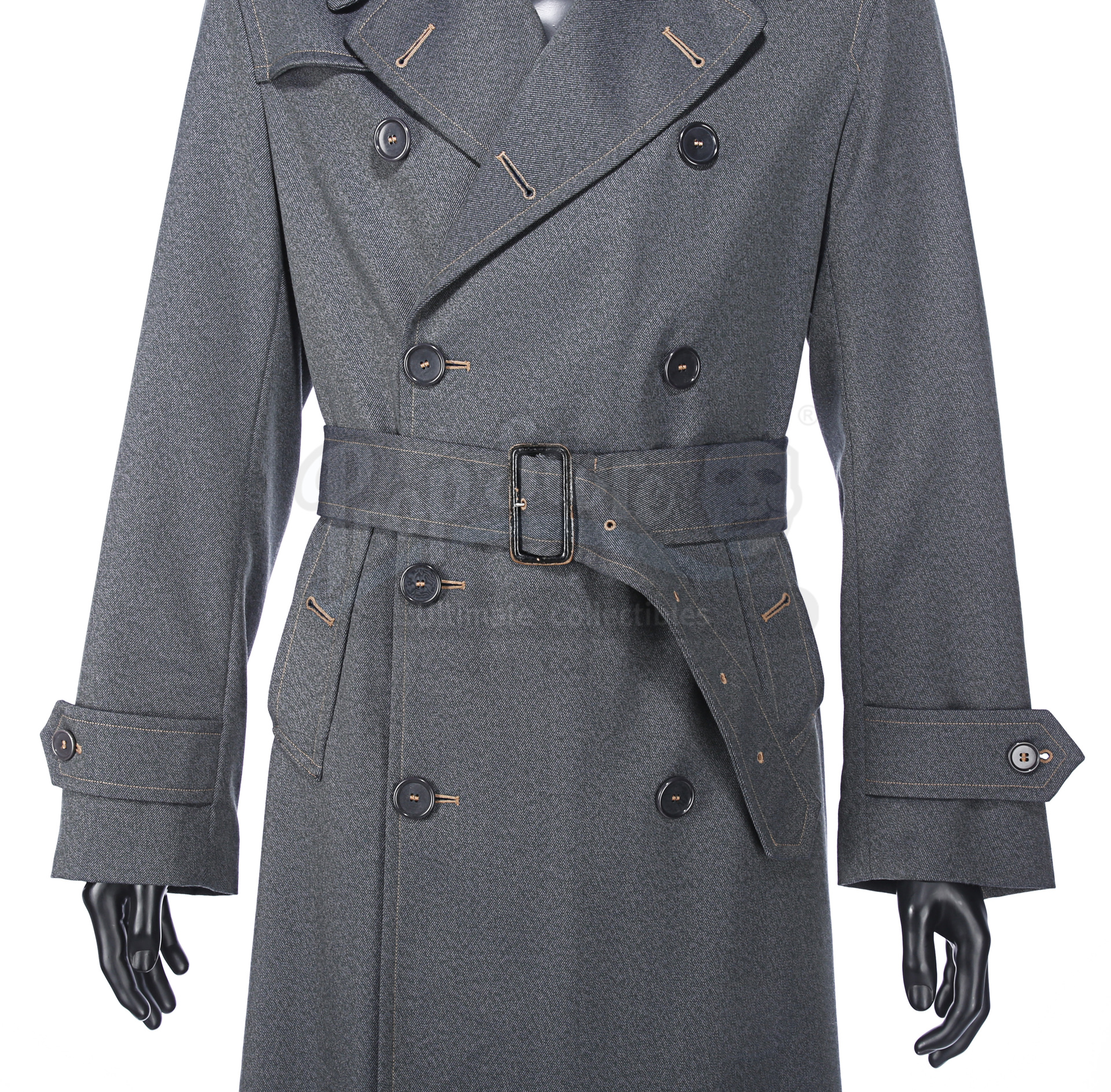 ALLIED (2016) - Max's (Brad Pitt) Military Overcoat - Image 5 of 17