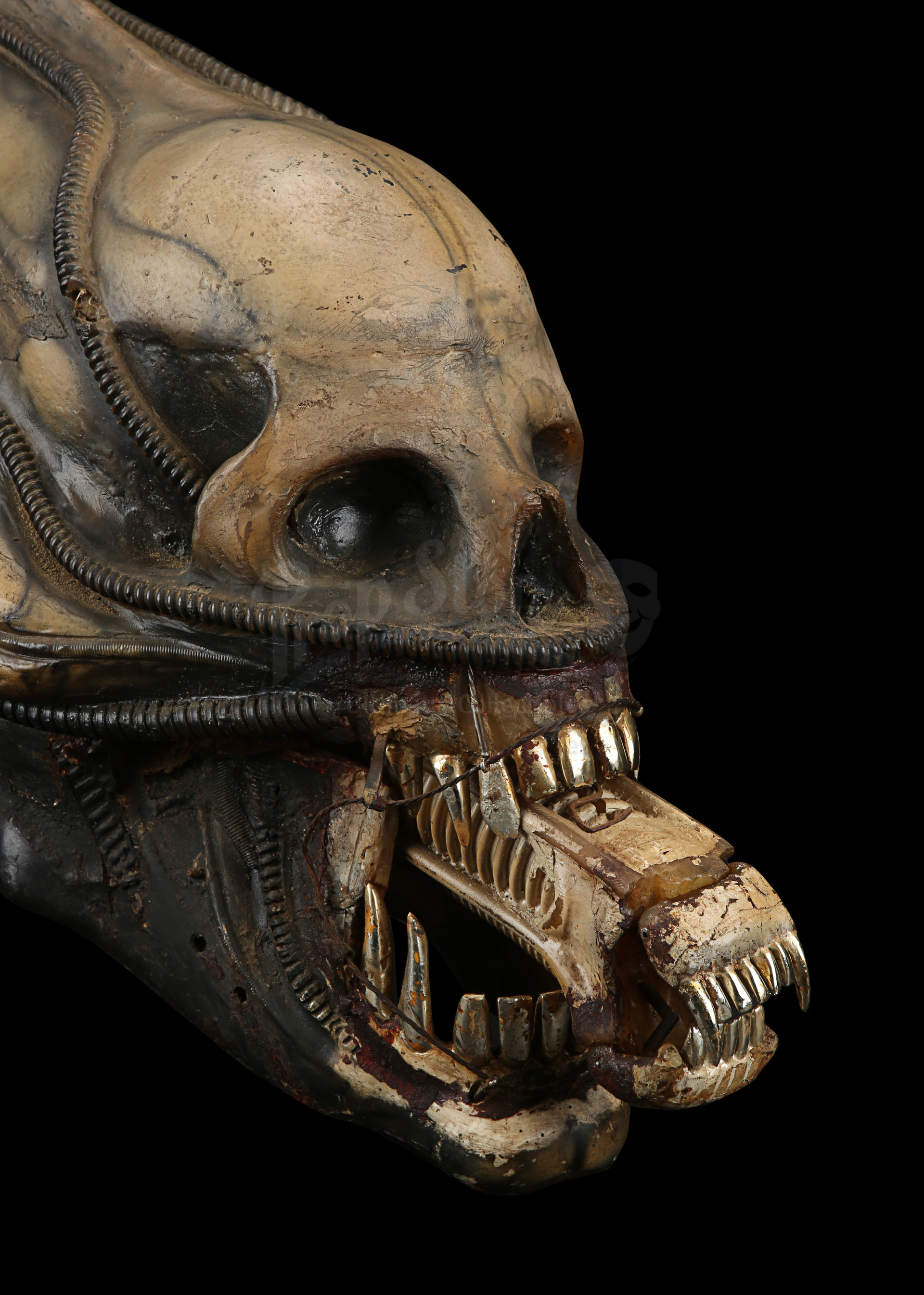 ALIEN (1979) - H.R. Giger-designed Special Effects Mechanical Alien Head - Image 18 of 34