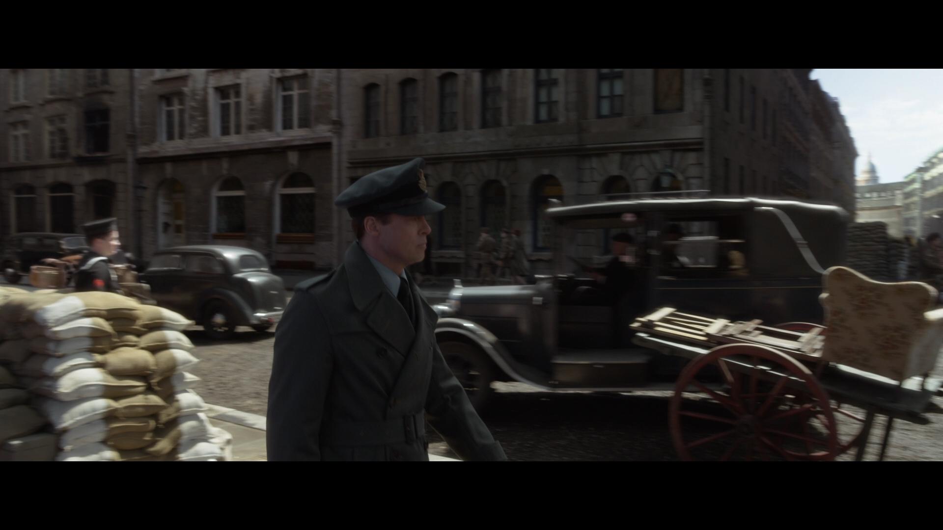 ALLIED (2016) - Max's (Brad Pitt) Military Overcoat - Image 10 of 17