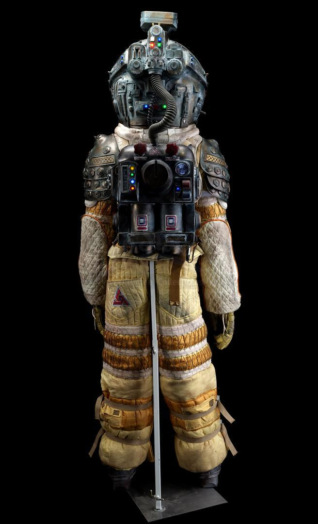 ALIEN (1979) - Light-up Replica Thomas Kane (John Hurt) Spacesuit Display - Image 4 of 15