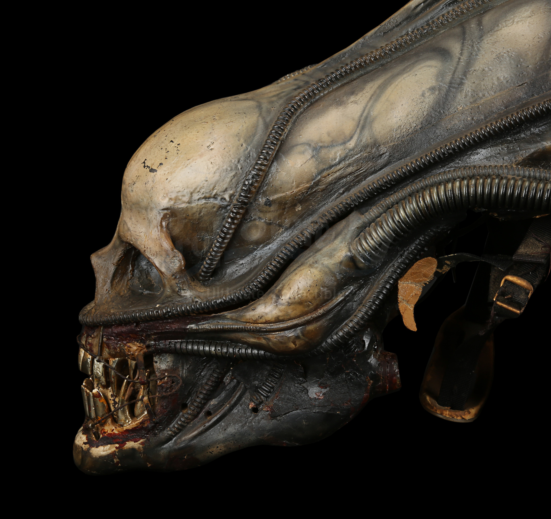 ALIEN (1979) - H.R. Giger-designed Special Effects Mechanical Alien Head - Image 9 of 34