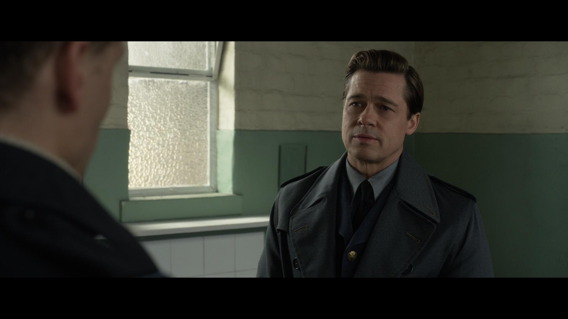 ALLIED (2016) - Max's (Brad Pitt) Military Overcoat - Image 17 of 17