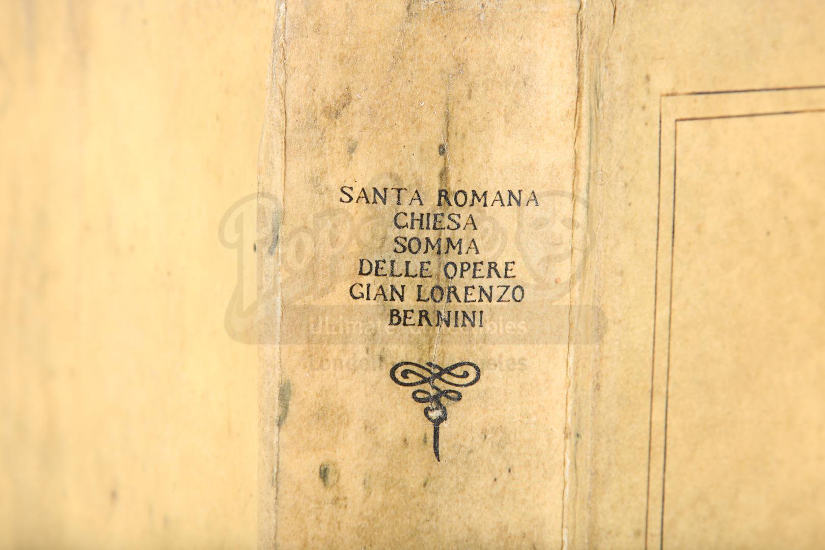 "ANGELS & DEMONS (2009) - Ancient Vatican ""Bernini"" Ledger - Image 10 of 34"
