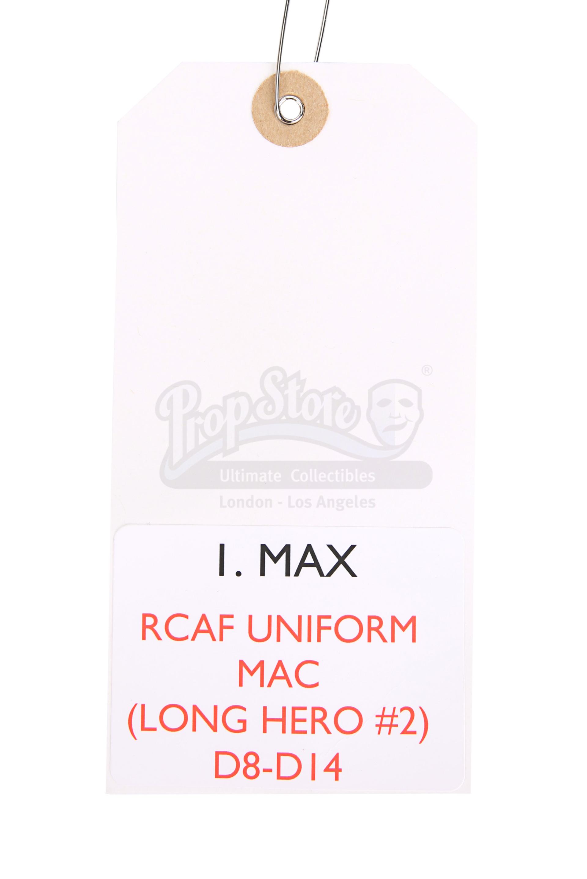 ALLIED (2016) - Max's (Brad Pitt) Military Overcoat - Image 8 of 17