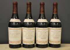 Four bottles of Henri Maire 1994 Roquevilly Rouge Majestueux.