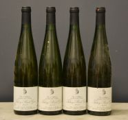 Four bottles of Tokay Pinot Gris, 2000, Vin d'Alsace, 750ml.