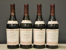 Four bottles of Henri Maire 1993 Roquevilly Rouge Majestueux.