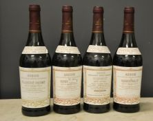 Four bottles of Henri Maire: 1994, 1996, two 1993, Roquevilly Rouge Majestueux.
