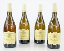 Four bottles of 2002 Pouilly Fuisse Grand Vin De Bourgogne wine