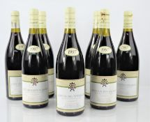Eight bottles of vintage 1997 R. Dubois & Fils - Cote de Nuits-Villages wine