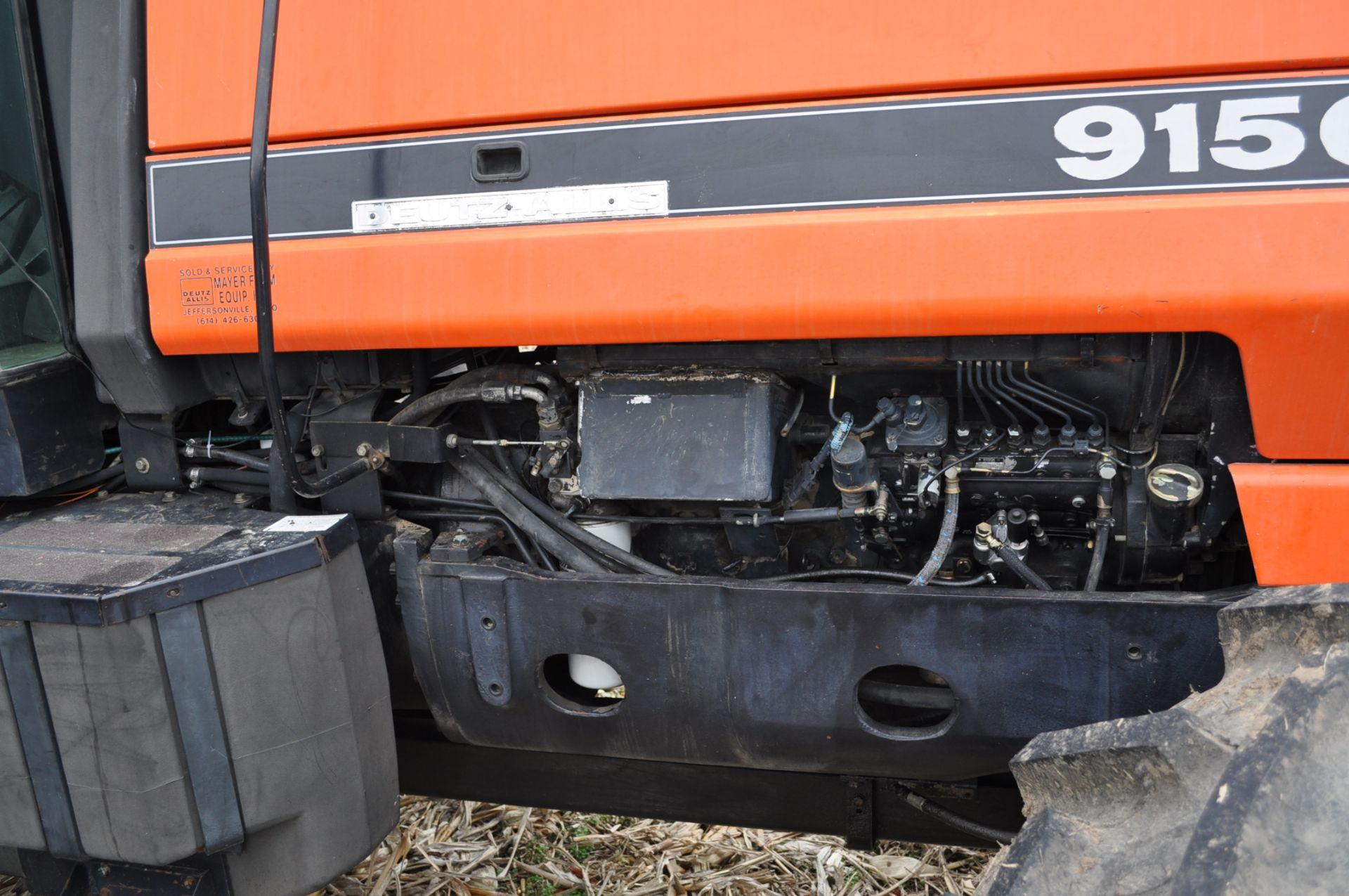 Deutz Allis 9150 tractor, MFWD, 18.4 R 42 duals, 420/85 R 28 tires, 6+3 speed range, 2 hyd - Image 11 of 20
