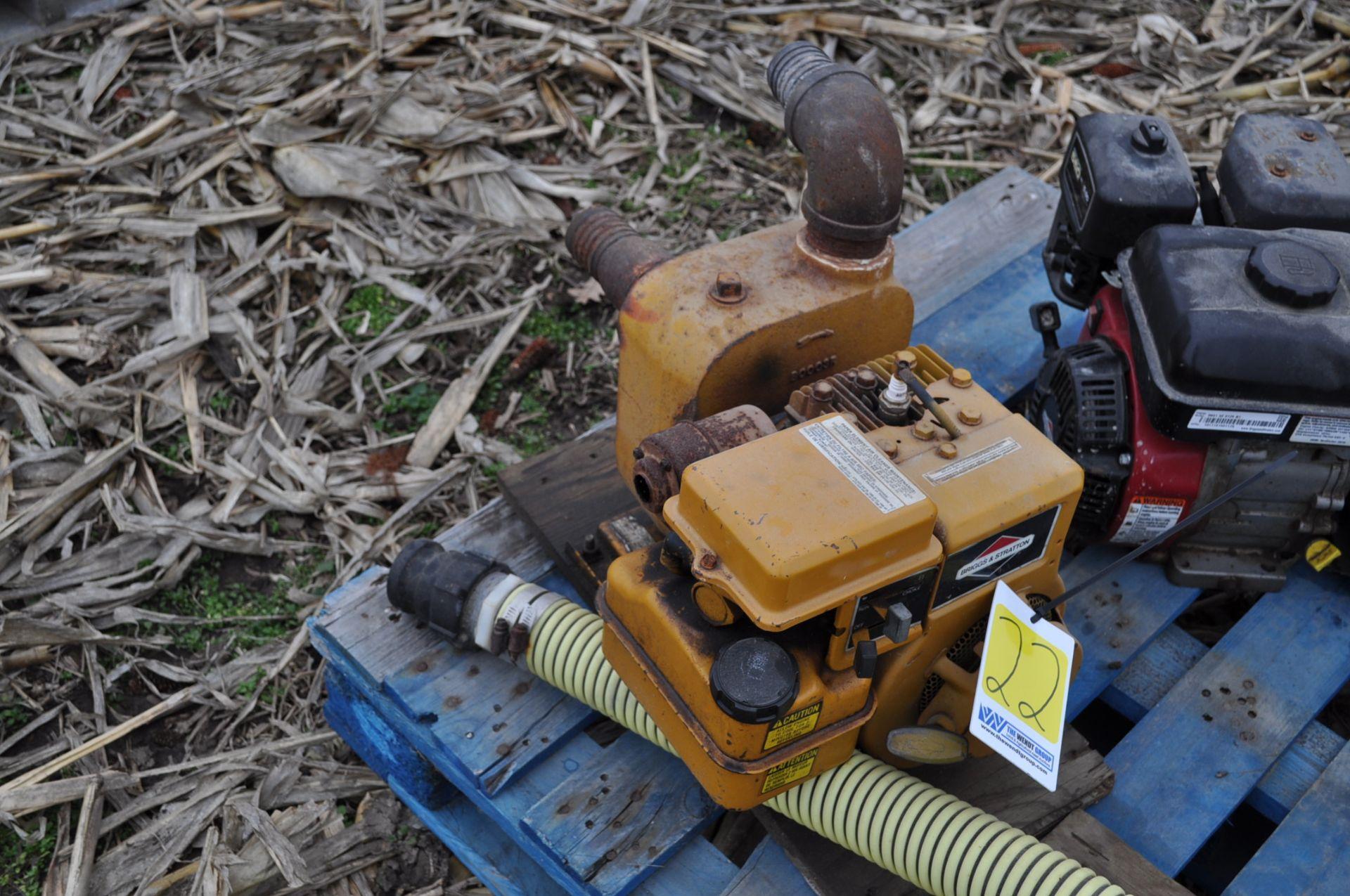 "2"" transfer pump, Briggs and Straton, BSGF-8"