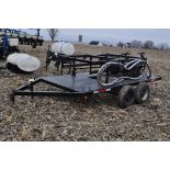Yetter Seed Jet II air transfer seed tender, holds 2 pro boxes, Briggs & Stratton gas engine, on