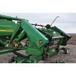 John Deere 693 corn head, poly, hyd drive, down corn reel, pto shafts, SN 655654