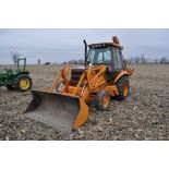 "Case Construction King 580 K backhoe, 17.5L-24 rear, 11L-16 front, CHA, 24"" digging bucket, 2"