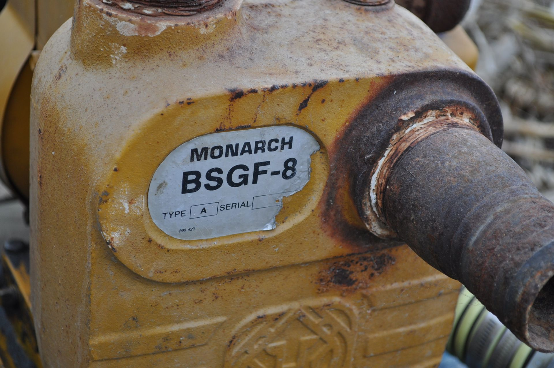 """2"""" transfer pump, Briggs and Straton, BSGF-8 - Image 3 of 3"""
