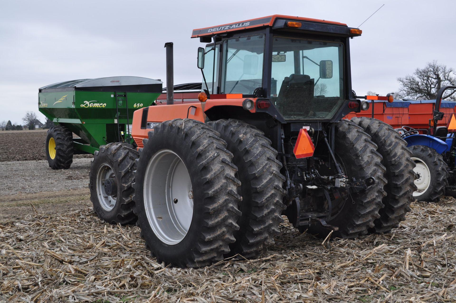 Deutz Allis 9150 tractor, MFWD, 18.4 R 42 duals, 420/85 R 28 tires, 6+3 speed range, 2 hyd - Image 2 of 20