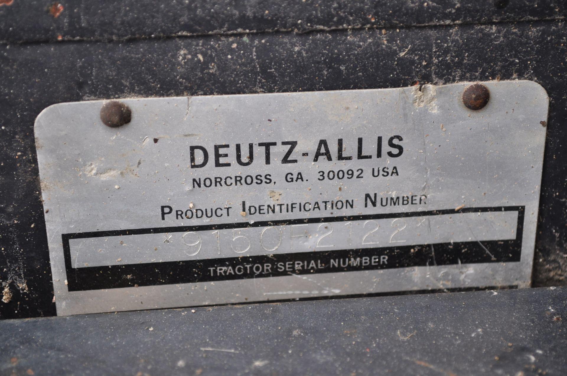 Deutz Allis 9150 tractor, MFWD, 18.4 R 42 duals, 420/85 R 28 tires, 6+3 speed range, 2 hyd - Image 12 of 20